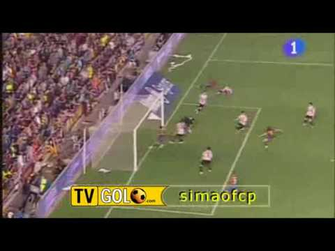 Gol Messi Final Copa Del Rey Athletic Bilbao - Barcelona  13 05 09(High Quality)