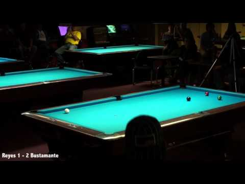 Edgie's Billiards Efren Reyes vs Francisco Bustamante Part 1 (видео)