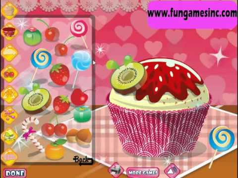 Cooking Games Free Online Games Cupcake