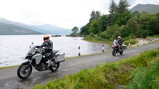 9. Ducati Multistrada Enduro v BMW R1200GS Adventure v Triumph Explorer  v KTM 1290 Super Adventure