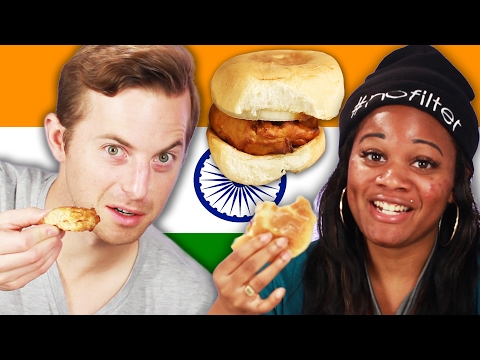 Download People Try Indian Street Food HD Mp4 3GP Video and MP3