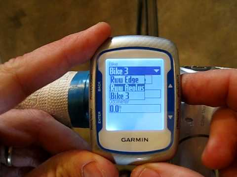 Garmin Edge 500 Mounting 