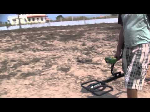 Garrett GTI 2500 Treasure Hound Depth Test