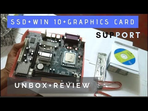 Zebronics Zeb-G41-D3 Motherboard | LGA 775 Socket, Intel G41 + ICH7 chipset | Unbox & Review
