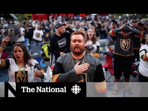 Las Vegas embraces Golden Knights after tragic shooting