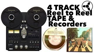 Download Lagu THE BEST SOUNDING FORMAT (part I): 4 Track Reel to Reel Tape & Recorders Mp3