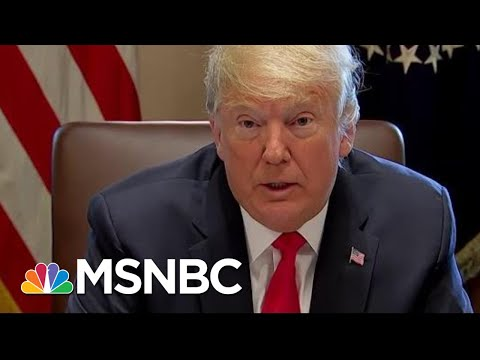 President Trump Extends Condolences On The Passing Of Aretha Franklin | Andrea Mitchell | MSNBC
