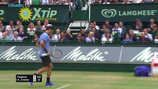 Roger Federer produced a devastating performance to claim his ninth title in Halle. Watch official ATP streams all year round: http://tnn.is/WatchLive Tennis...