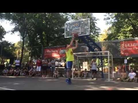 Данк-контест на турнире УСЛ 3х3 Street Game Odessa (2.08.2014)
