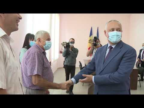 Президент Молдовы совершает рабочий визит в три района страны
