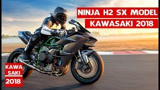 10. All New Kawasaki Ninja H2 SX Model 2018 | 2018 Kawasaki Ninja H2R, H2 Carbon, H2  Review