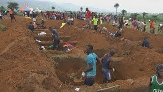 The death toll is expected to rise after mudslides and floodwaters in and around the capital Freetown killed at least 300 this week, ...