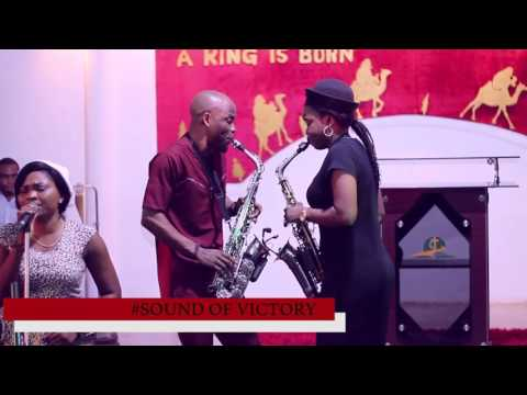 Alabaster and funmi sax @SOUND OF VICTORY, Video by Darstep media