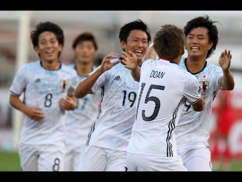 Xem lại Nhật Bản U19 4 - 0 Tajikistan U19 24-10-2016, Highlights, AFC Championship U19 2016