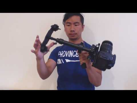How to Balance Sutefoto S40 Handheld Camera Stabilizer and Review