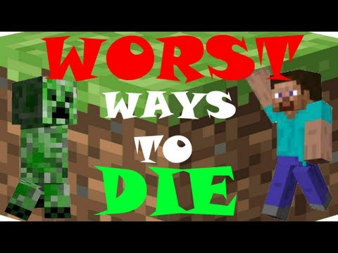 5 WORST Ways to Die - Minecraft