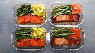 Salmon Meal Prep For Two by Tasty