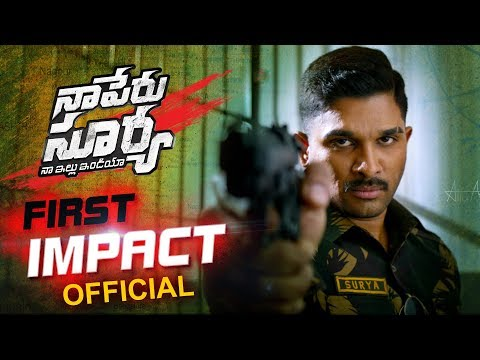 Naa Peru Surya trailer of upcoming Kollywood movie