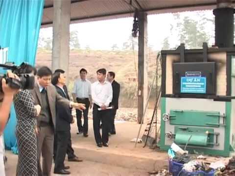 Hiệu quả lò đốt rác bằng khí tự nhiên tại thị trấn Đu, huyện Phú Lương, Thái Nguyên