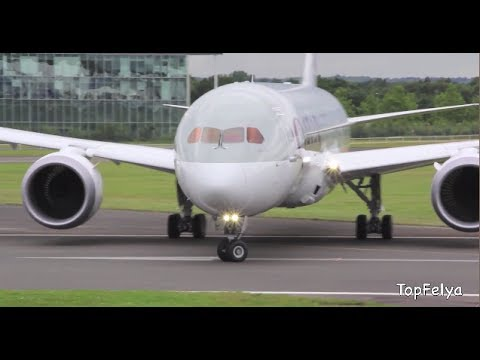 Boeing787 Insane Steep takeoff Dreamliner fly like a combat aircraft