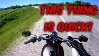 10. 2017 Harley Davidson Roadster 0-60 MPH Test