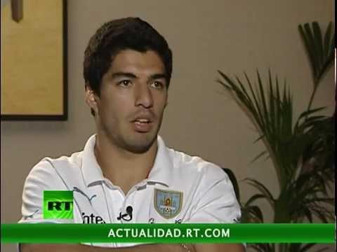 Entrevista con Luis Suárez, la estrella uruguaya de fútbol