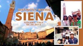 wanderful  walking tour of siena  italy