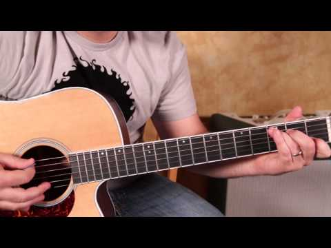 How to Play Johnny Cash on Acoustic Guitar Jackson – Tutorial