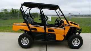 4. On Sale Now $12,799 2013 Kawasaki Teryx4 LE EPS In Sunrise Yellow! 4 passenger Teryx