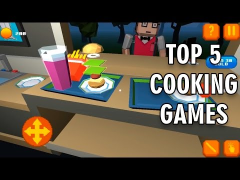 TOP 5 COOKING GAMES For Android/iOS