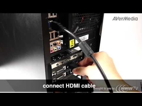 AVerMedia ExtremeCap U3 capture card CV710 USB 3.0 Interface (Pt 2) - Product Tour