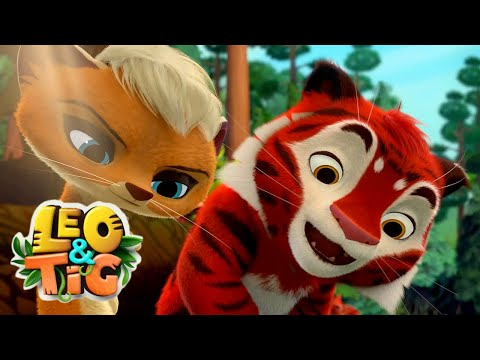 Leo and Tig 🦁 Episode 16 -21 - New animated movie - Kedoo ToonsTV