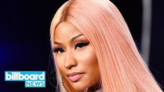 Nicki Minaj Stops By 'Late Show,' Performs Hilarious Freestyle Rap | Billboard News
