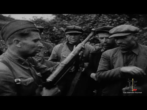 Partisan on the Eastern Front during WW2