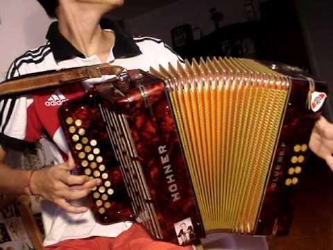 Eliseo castillo - acordeon solo sin guitarra!!
