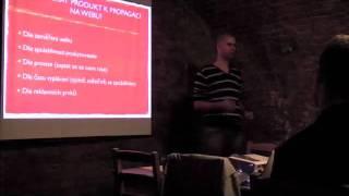 Foto z akcie Internet session prednáša Mário Roženský.