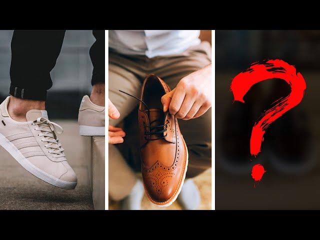 Мужская обувь: модные тенденции