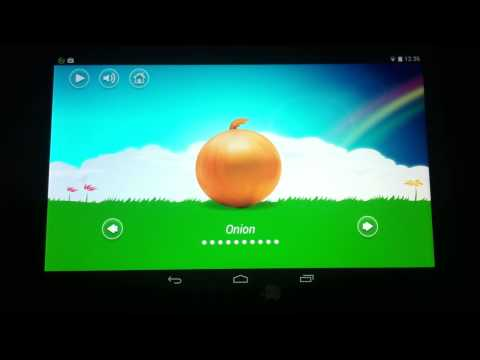Video of Kids Fruits Vegetables Animals
