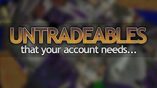 Video Essential Untradeables in OSRS MP3, 3GP, MP4, WEBM, AVI, FLV Juli 2018