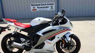 7. FOR SALE $5,999:  USED 2009 Yamaha YZF-R6 Mainland Cycle Center
