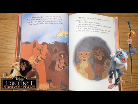 Disney The Lion King 2 Simbas Pride - Read Along Bedtime Stories for kids