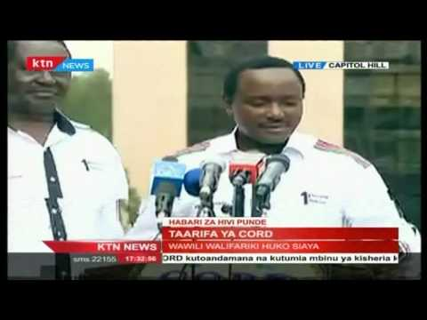 CORD leaders address the nation over police killing of protesters
