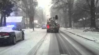 Gastonia (NC) United States  city photos gallery : Snow Gastonia North Carolina
