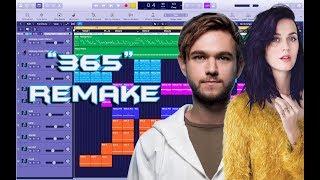Zedd, Katy Perry - 365 Instrumental Remake (Production Tutorial)