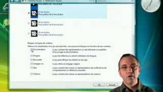 Windows Vista et le Contrôle parental