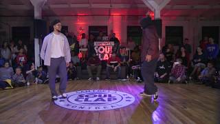 Greenteck vs C-Rowpop – Can I Get A Soul Clap 2017 Popping Semi Final