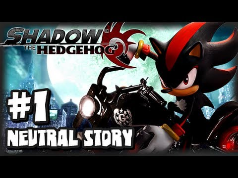 Shadow the Hedgehog GameCube