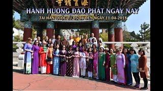 Thầy Nhật Từ cùng đoàn hành hương Đạo Phật Ngày Nay tại Hàn quốc 04-2018- Phần 3