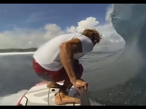 Stand up Paddle Boards (SUPs) Surfing Waves- People are Awesome 2014 Compilation