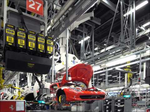 Roselli Foreign Car Repair – Pictures of the Ferrari factory
